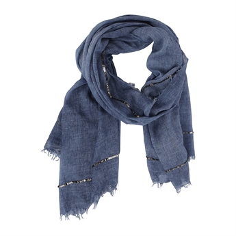 Picture of Scarf Giselle, blue