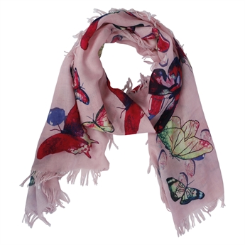 Picture of Scarf Ada, pink mix