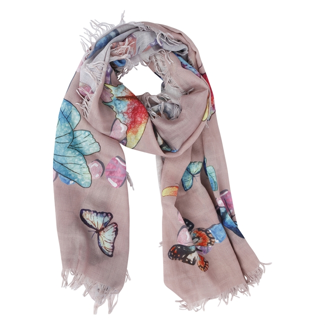 Picture of Scarf Ada, beige mix