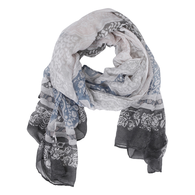 Picture of Scarf Evelyne, lt blue