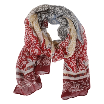 Picture of Scarf Evelyne, red mix