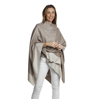 Picture of Poncho Davos, mix beige