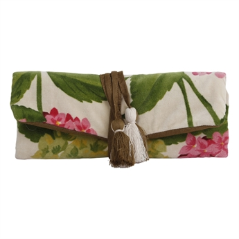 Picture of Jewellery roll Abigail, pink/green
