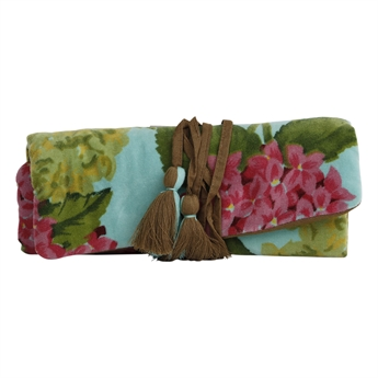 Picture of Jewellery roll Abigail, turquoise/pink