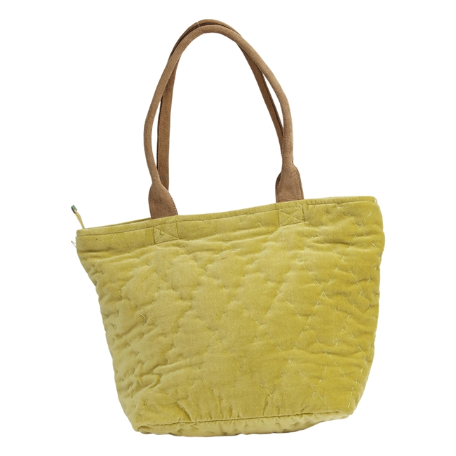 Picture of Shoulder bag (quilted) Florence, green