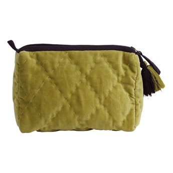 Picture of Cosmetic bag (quilted) Florence, green