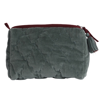 Picture of Cosmetic bag (quilted) Florence, sea green