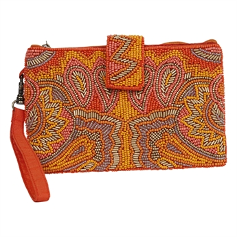 Picture of Mini clutch Vick, orange