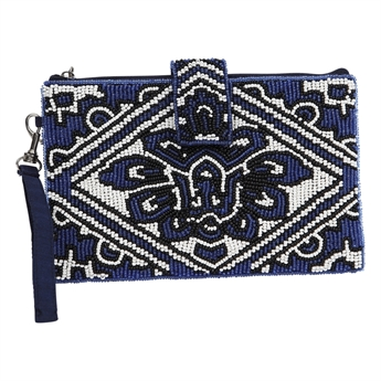 Picture of Mini clutch Jasmine, blue