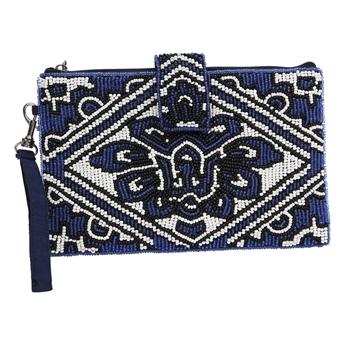 Picture of Mini clutch Jasmine, blue.