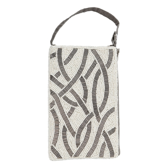 Picture of Mini bag Cecilia, ivory/grey