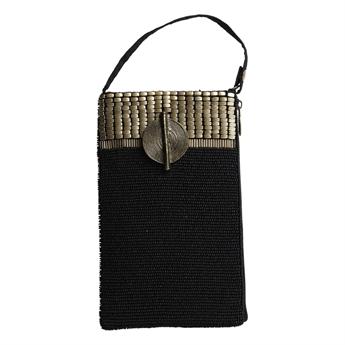 Picture of Mini bag Victoria, black/gold
