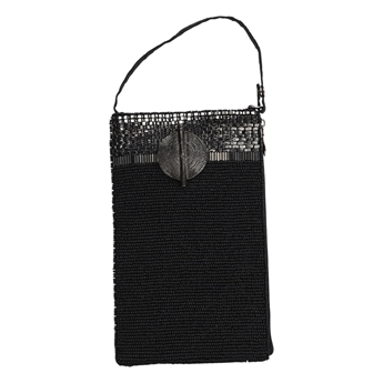 Picture of Mini bag Victoria, black/silver