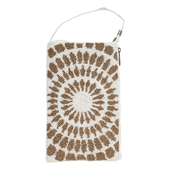 Picture of Mini bag Tessa, ivory gold