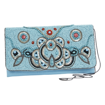 Picture of Clutch bag Zara, turquoise