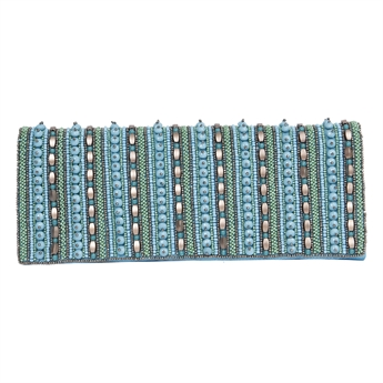 Picture of Clutch bag Mabel, turquoise