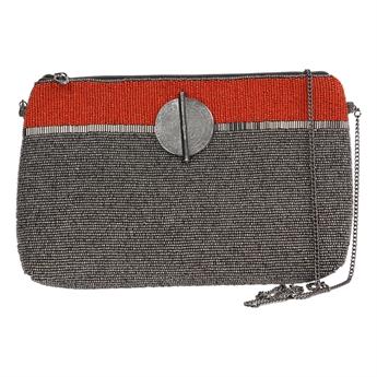 Picture of Clutch bag Victoria, coral