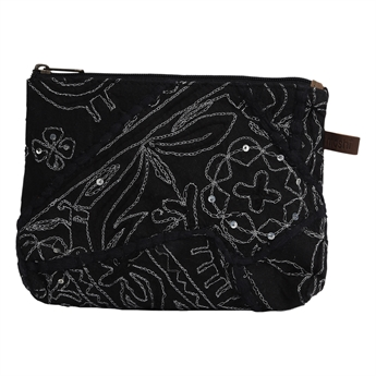 Picture of Pouch Ritikka, silver/black
