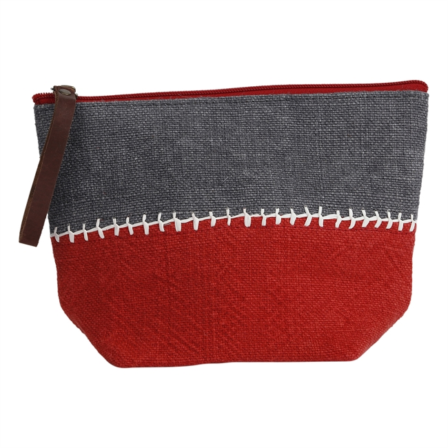Picture of Pouch Mavis, red/cement