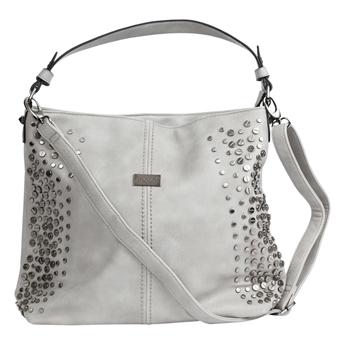 Picture of Shoulder bag Violet, lt grey