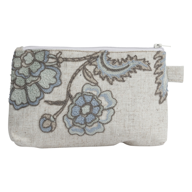 Picture of Cosmetic bag Sophia, lt blue/turquoise