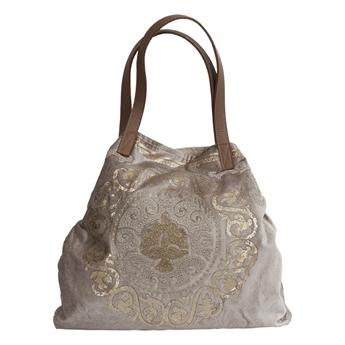 Picture of Shoulder bag Madeline, beige/gold
