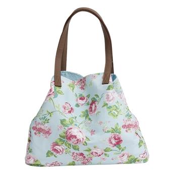 Picture of Shoulder bag Gemma, turquoise/pink.