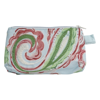 Picture of Cosmetic bag Lucia, turquoise/pink