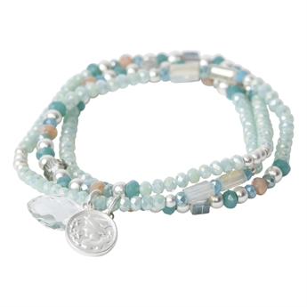 Picture of Bracelet/necklace Lula, turquoise