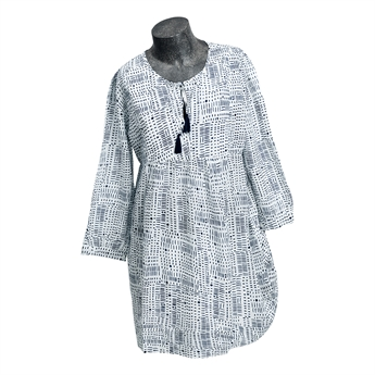 Picture of Tunic Isabella, white/navy