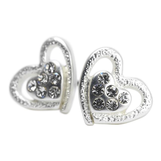 Picture of Earring Ella, matte silver