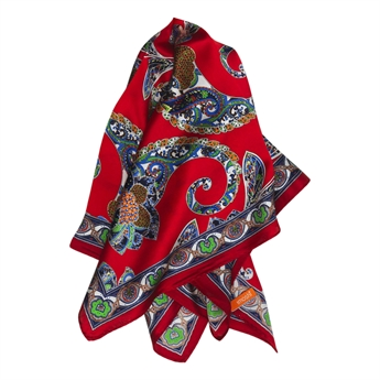 Picture of Mini scarf Josy, red