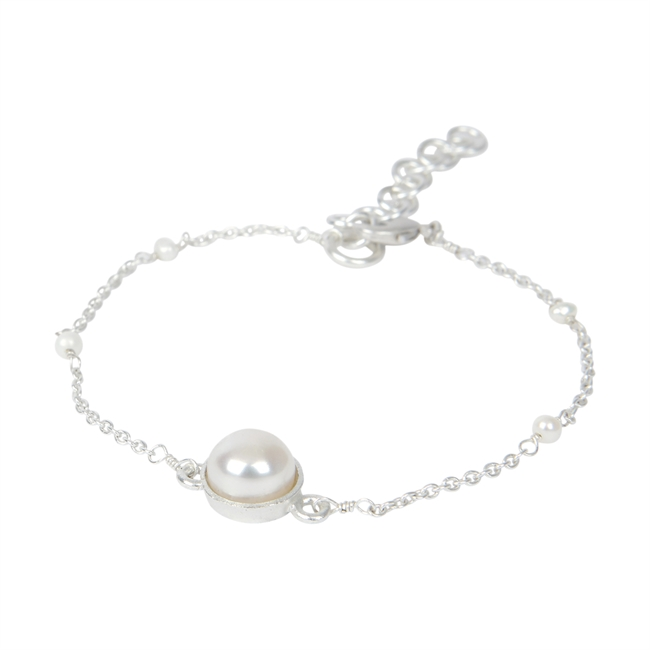 Picture of Bracelet Sarah, silver plated