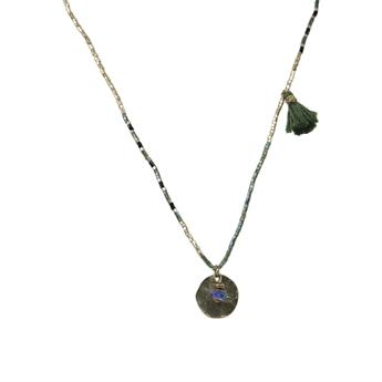 Picture of Necklace Aurora, khaki