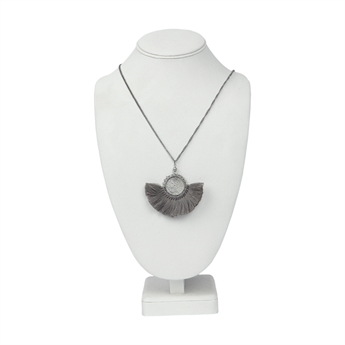 Picture of Necklace Lena, dusty grey