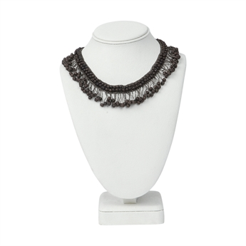 Picture of Necklace Adelyn, matte brown