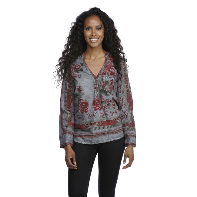 Picture of Blouse Hadley, grey mix