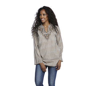 Picture of Tunic Khloe, beige