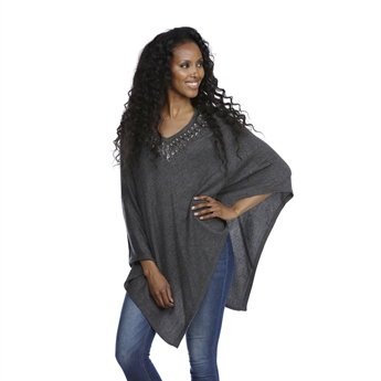 Picture of Poncho Maria, dk grey