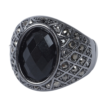 Picture of Ring Milano, gun metal