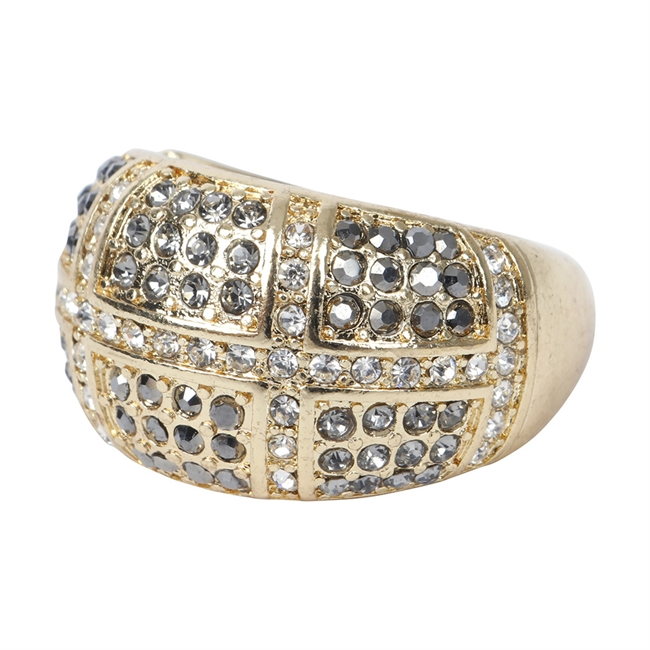 Picture of Ring Tolu, gold/black