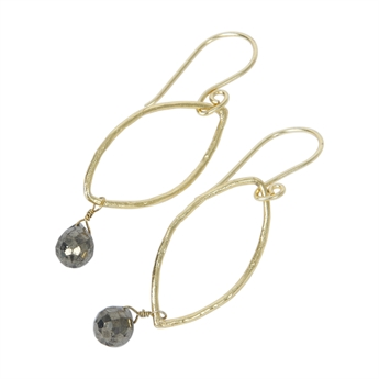 Picture of Earring Cindy, gold plated