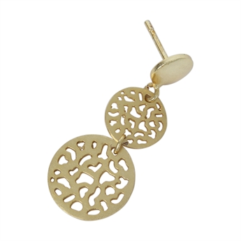 Picture of Earring Violet, gold plated