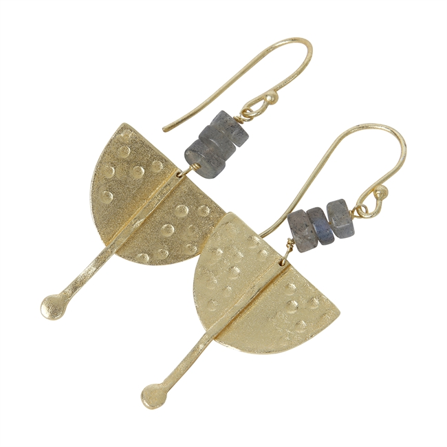 Picture of Earring Estelle, gold plated