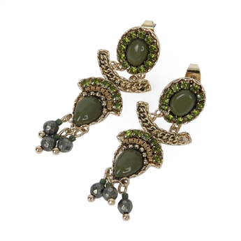 Picture of Earring Cassidy, green
