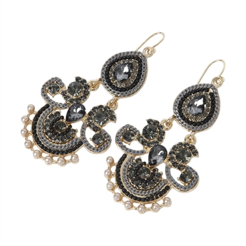 Picture of Earring Aqaba, grey