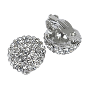 Picture of Earring (clip) Merci, silver