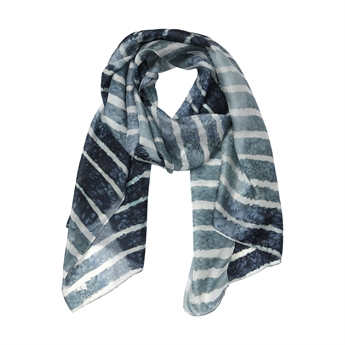 Picture of Scarf Mia, grey/black