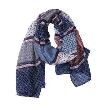 Picture of Scarf Heather, blue mix