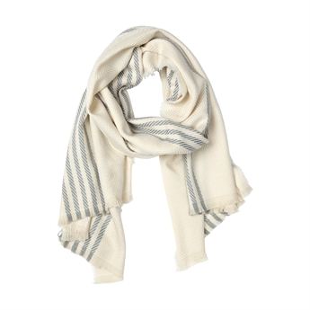 Picture of Scarf Brittany, beige/blue